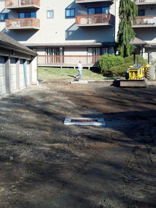 Catch Basin Parking Lot Repair