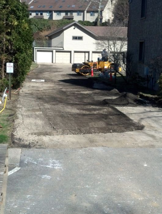 Construction of a Parking lot