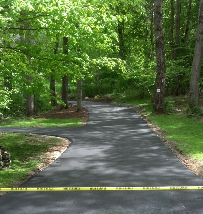 New Asphalt Driveway CT All Star