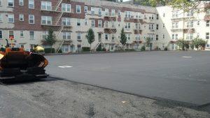 Stamford Re-Grade Re-Pave Parking lot 3-5