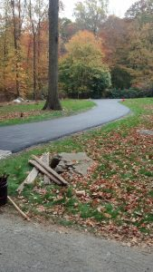new canaan paved road