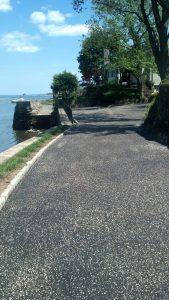 Greenwich new driveway