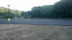 Wilton Factory Pavement Redone