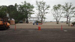 Bailey Beach Basketball Court