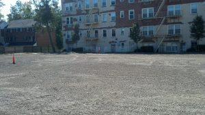 greenwich parking lot repave