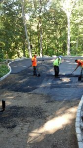 New Canaan Driveway sealcoat